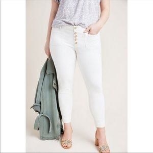 Anthropologie Pilcro High Rise Denim Skinny Jeans